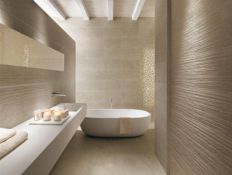 Pavimenti bagno moderno cool il bagno opaco e lucido wave with