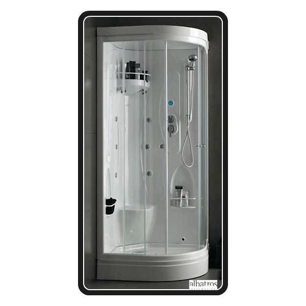Box e cabine doccie edilceramiche di maccan - Cabine doccia multifunzione albatros ...
