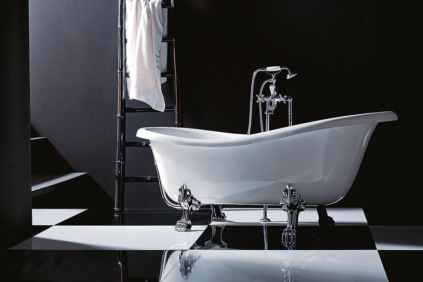 Epoca vasca da bagno piedi bronzo treesse - Vasca da bagno profonda ...