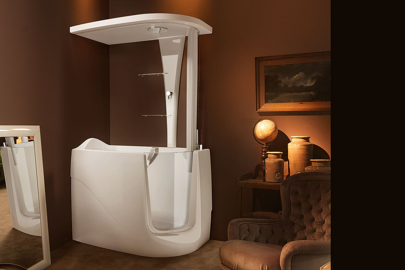 Gen x top i vasca da bagno per disabili anziani treesse edilceramiche di maccan - Vasche da bagno per anziani ...