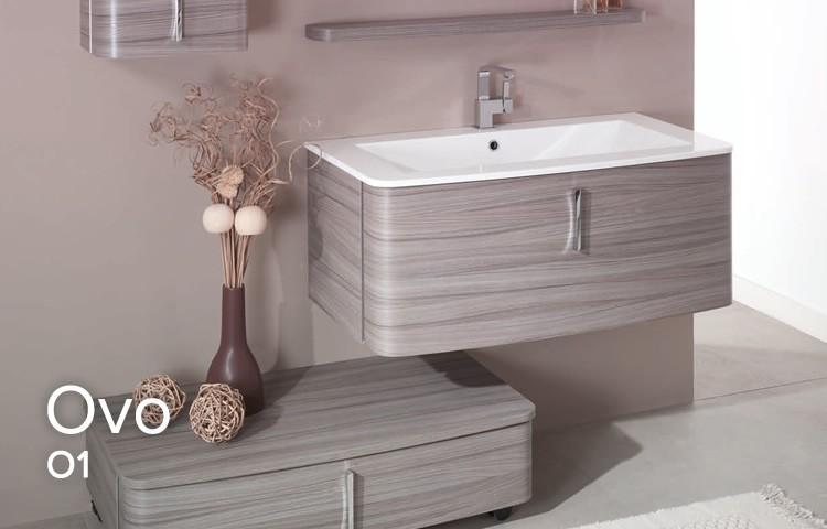 Mobili bagno con piastrelle rosa design per la casa idee per