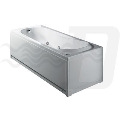 Vasca Da Bagno Jacuzzi Aira: Vasche da bagno vasca incasso in korakril con doccia.