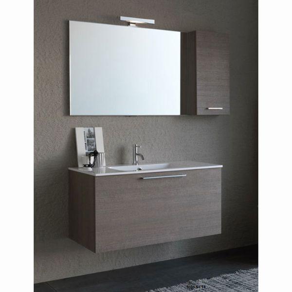 Mobili da bagno moderno edilceramiche di maccan - Mobile sottolavello bagno ...