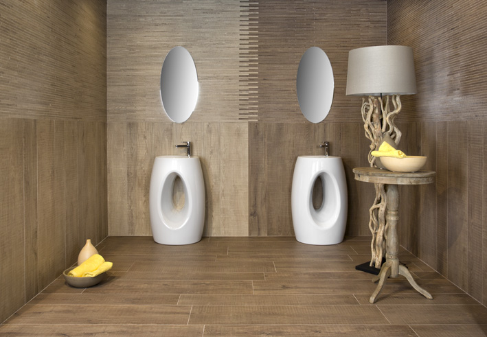 Pavimento bagno gres effetto legno bagno parquet come - Pavimento bagno effetto legno ...