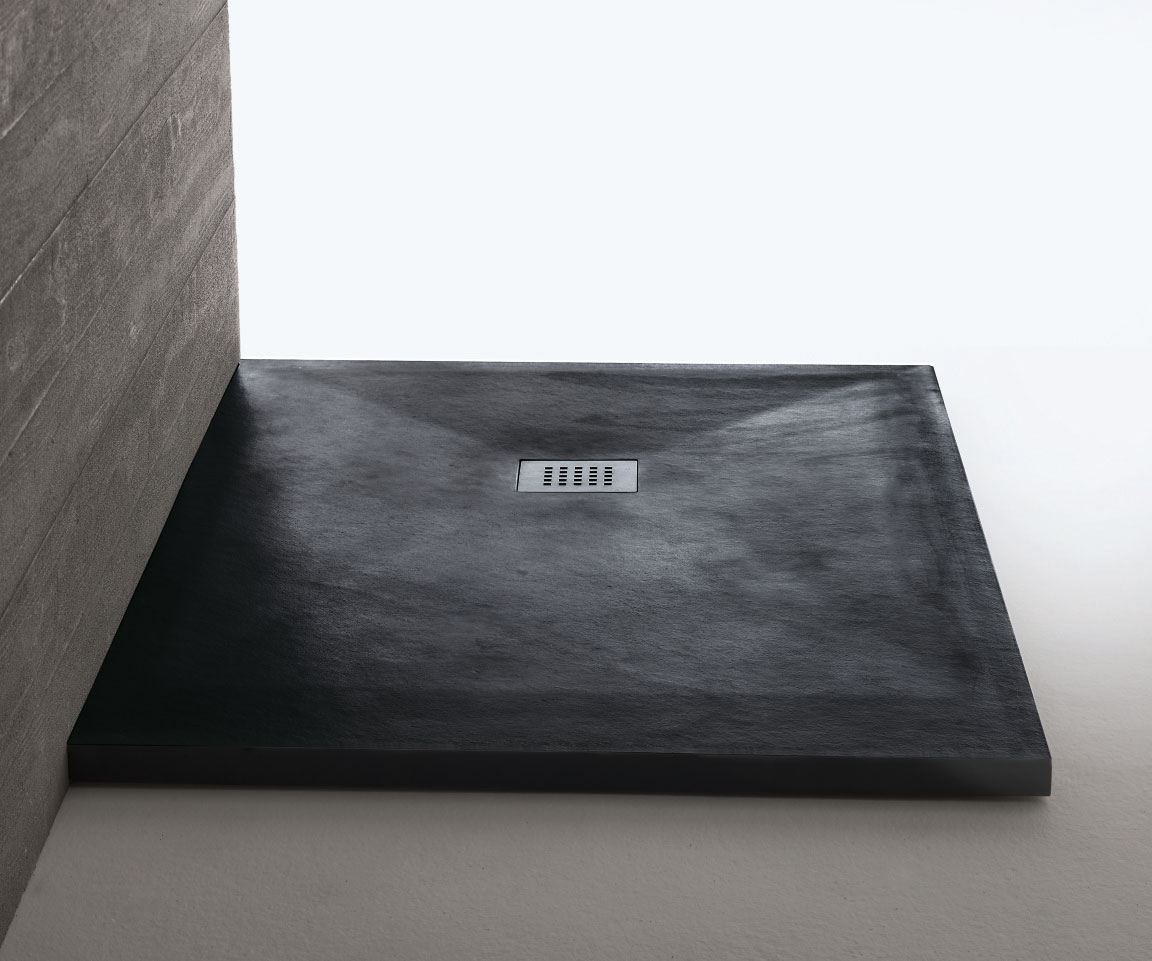 piatto doccia irregolare 70x : STONEFIT Piatto Doccia cm.70x 80/100 h.3,00 SAMO
