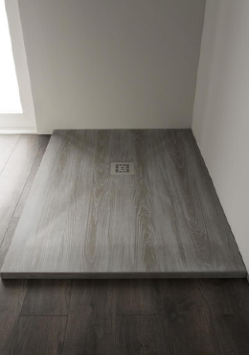 Woody piatto doccia finitura effetto legno h 3 pietrablu for Piastrelle 90x90 prezzi