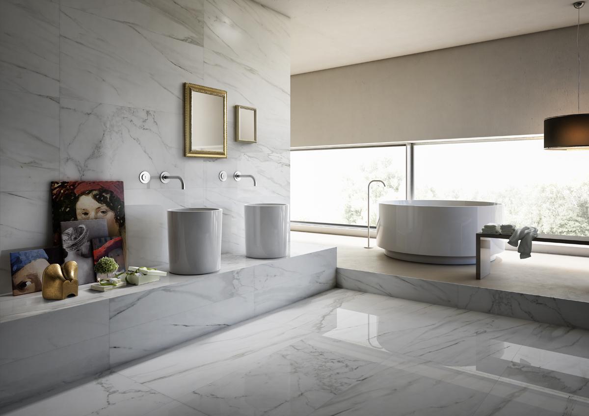 i marmi pavimento rivestimento effettto marmo la faenza