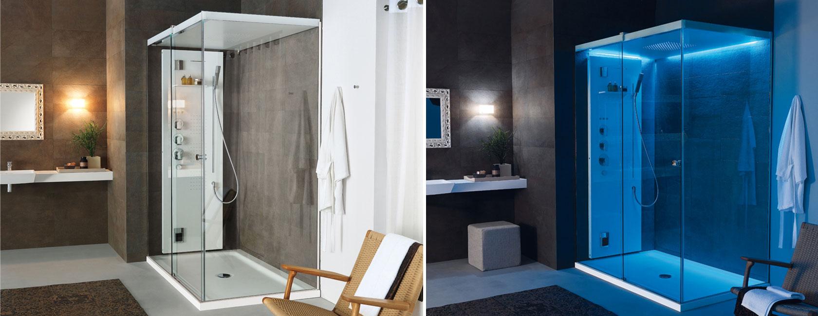 Light cabina doccia multifunzione teuco edilceramiche di - Cabina doccia teuco prezzi ...