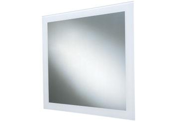 Atelier specchio quadrato edilceramiche di - Carrara e matta accessori bagno ...