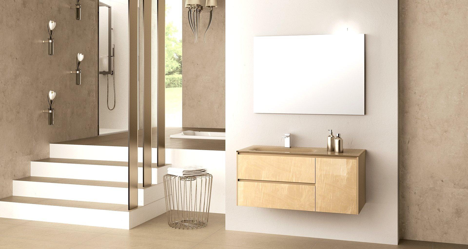 Relax 04 mobile da bagno iotti edilceramiche di maccan - Mobiletto bagno da appendere ...