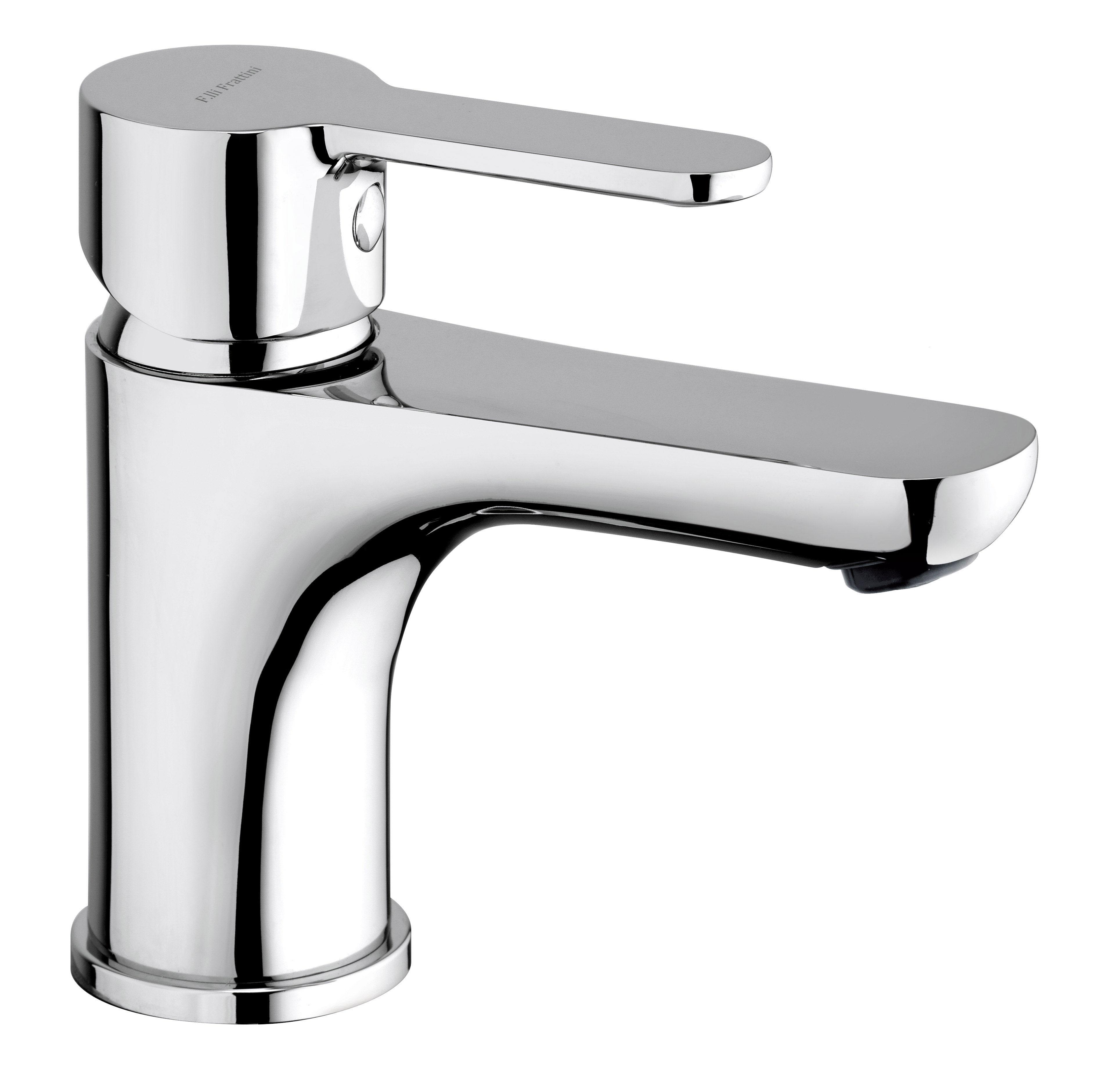 net miscelatore lavabo con scarico 1 14 flli frattini rubinetterie