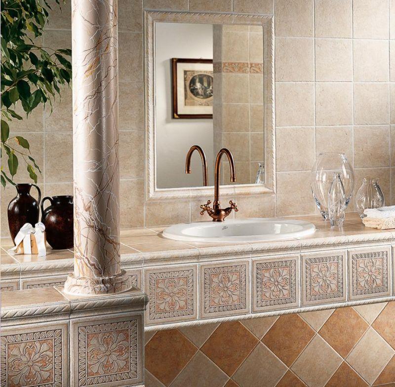 Calliope rivestimento bagno cucina del conca faetano - Ceramiche bagno classico ...