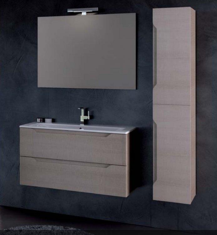 Mobili bagno per lavabo con colonna design casa creativa for Mobili bagno 80 cm