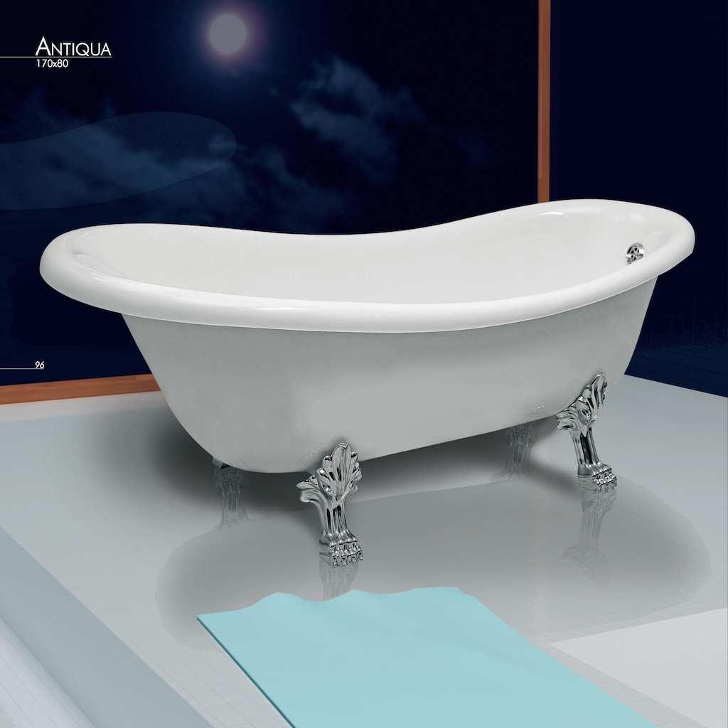 antiqua vasca da bagno cm160x80 piedi oro jetfun