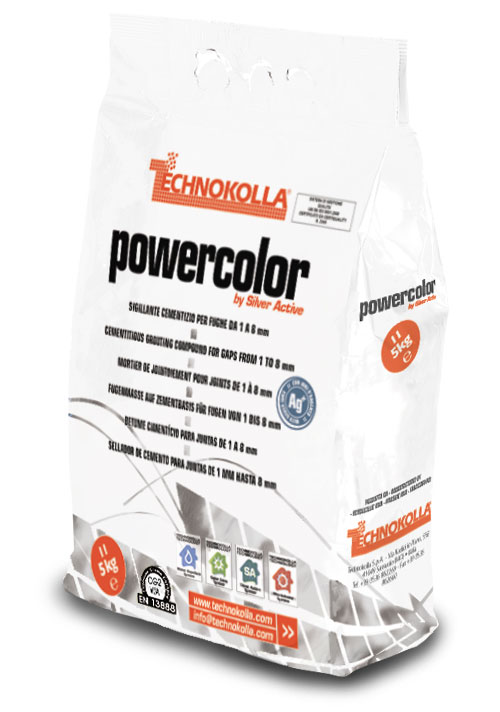 POWERCOLOR Sigillante cementizio Antibatterico  TECHNOKOLLA