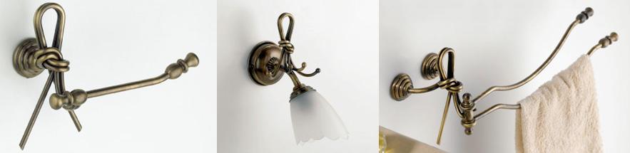 Accessori Bagno Bronzo : Nodo accessori da bagno bronzo ceramica pz flab