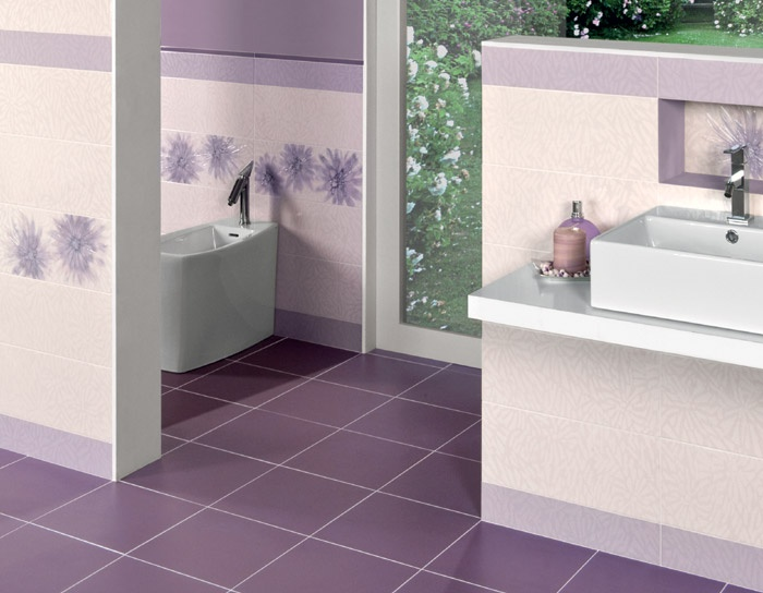 Bagno Lilla E Rosa : Piastrelle bagno lilla e bianco ~ le migliori idee per la tua design