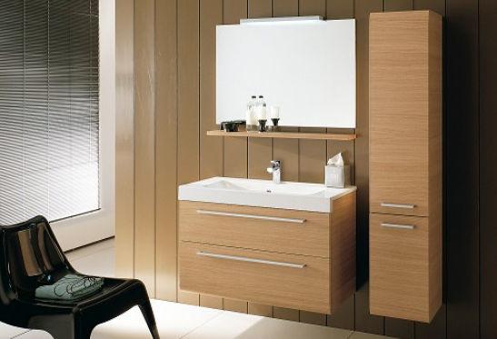 Linear colonna 32 5x34x160 rovere iotti mobili da bagno - Mobili a colonna per bagno ...