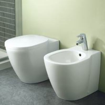 CONNECT  Vaso+Coprivaso+Bidet  a TERRA  Ideal Standard