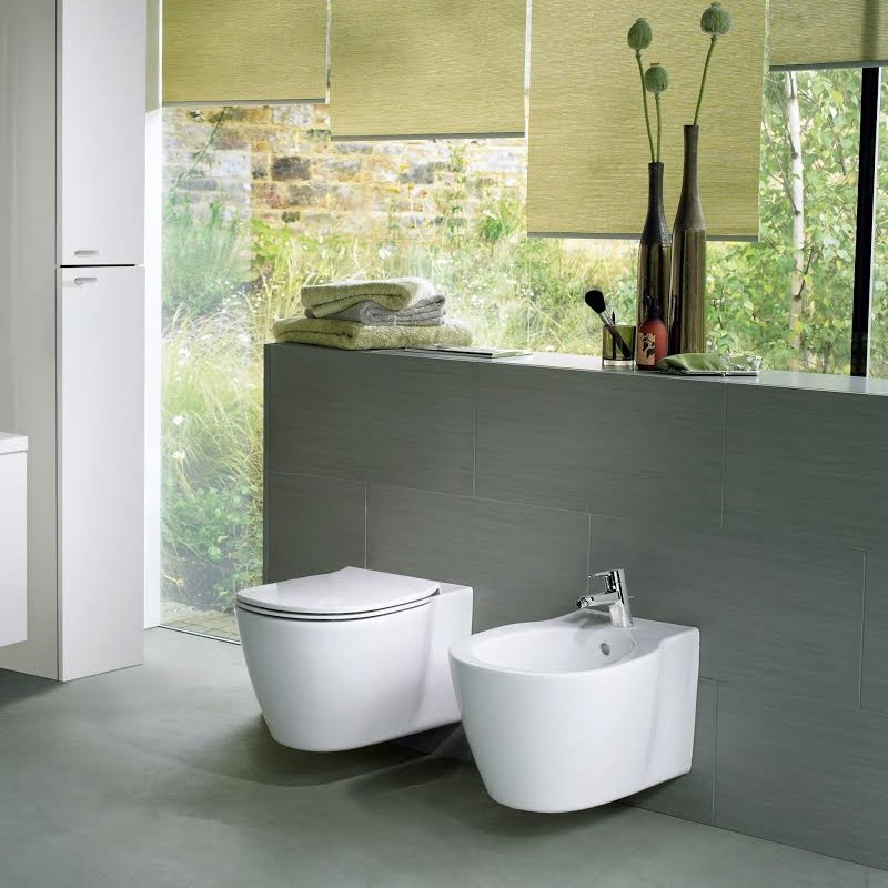 CONNECT  Vaso+Coprivaso+Bidet  Sospesi  Ideal Standard