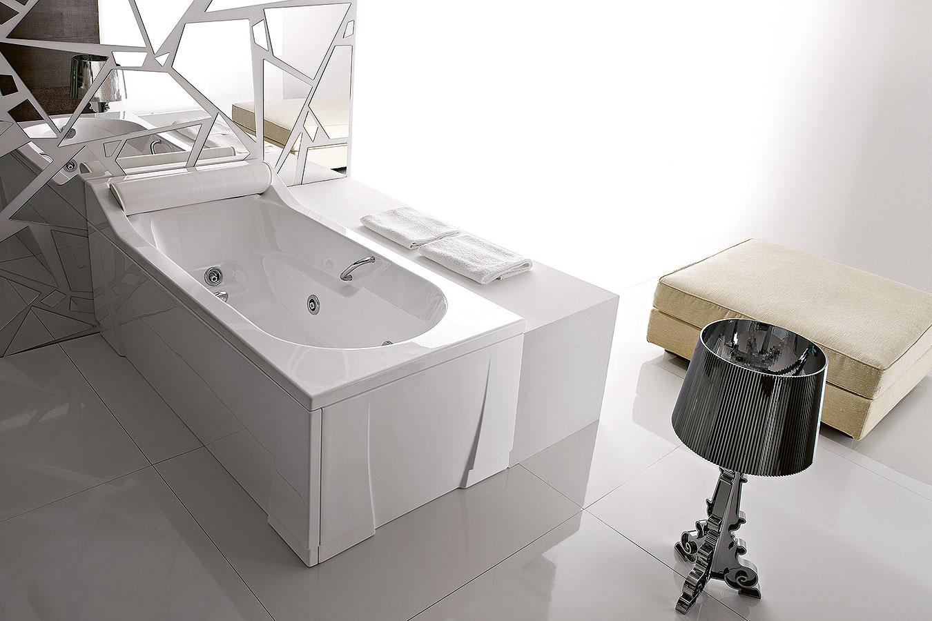 Vasche Da Bagno Angolari Treesse : Arckstone vasca bagno rettangolare idromassaggio whirlpool sx dx
