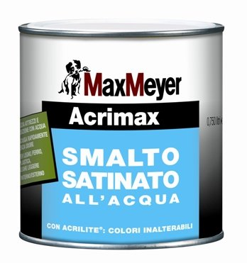 ACRIMAX Smalto all'acqua Satinato  MAX-MEYER