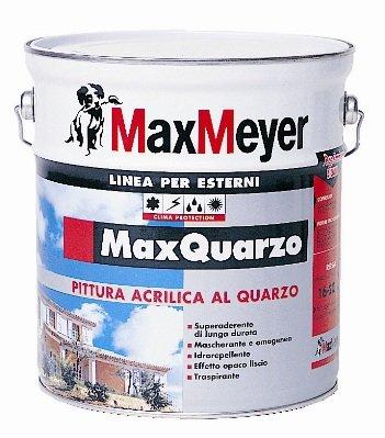 Max quarzo pittura al quarzo per esterni max meyer for Esterno quarzo