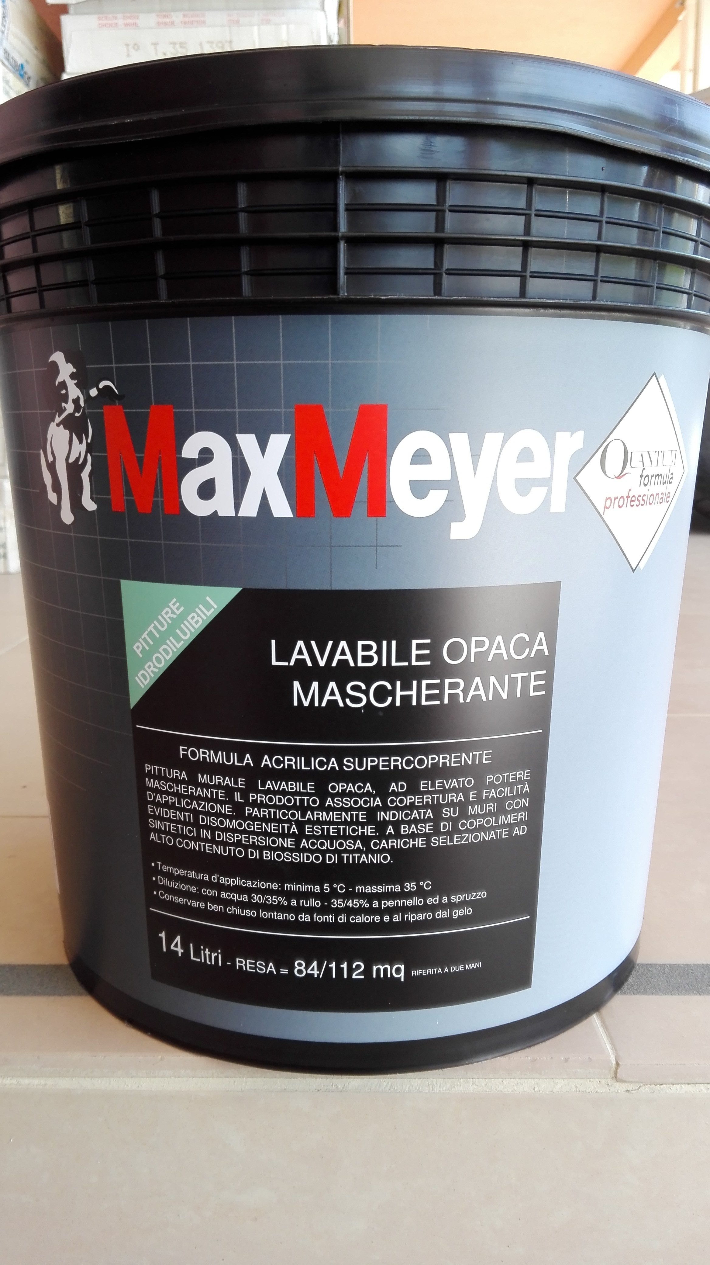 Pittra ACRILICA  Superlavabile   14Lt.  Max-Meyer