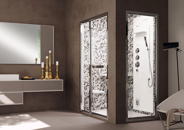"Pasha Medio con Colonna Light Bagno Turco ""Configurabile""   TEUCO"
