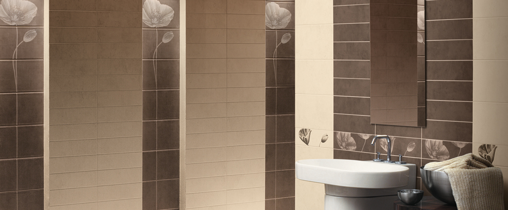 Touch rivestimento da bagno cedir ceramiche - Sanitari bagno beige ...