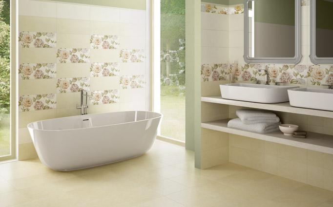 Trend rivestimento da bagno cedir ceramiche for Ceramiche da bagno