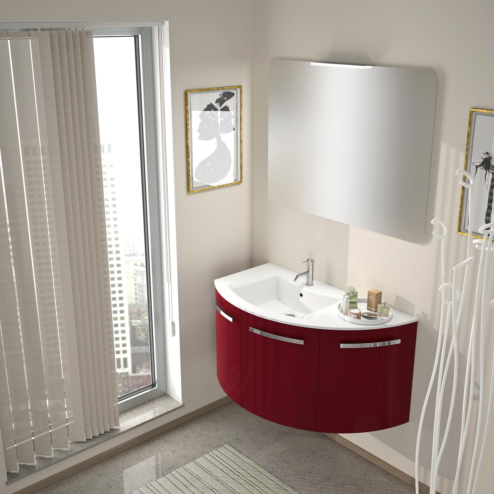 Mobili da bagno moderno edilceramiche di maccan for Mobile da bagno