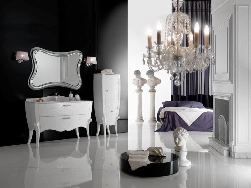 Mobili Arredo Bagno Bianco : Ninfea mobile arredo bagno bagno mobili bagno 🏠 homelook