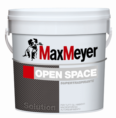 OPEN-SPACE 12 Lt. Pittura Murale Traspirante MAX-MEYER