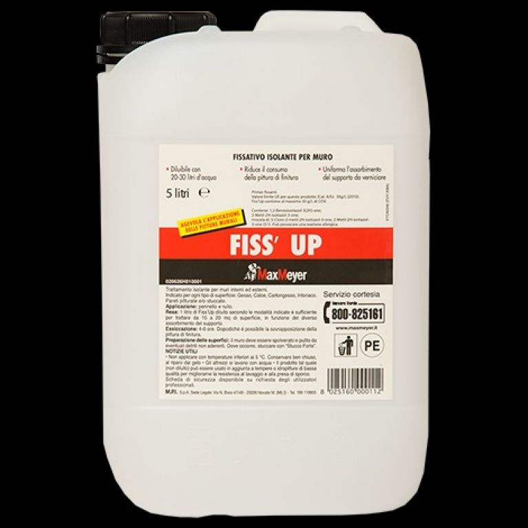 FISS'UP FISSATIVO ISOLANTE 5 Lt. Max-Meyer