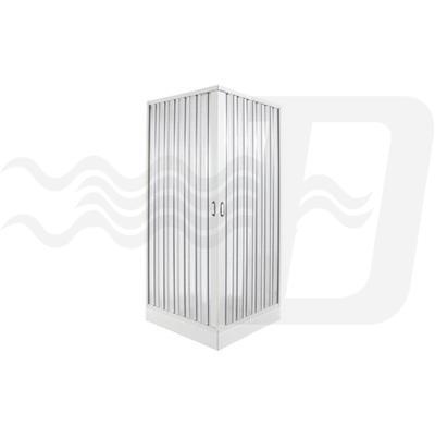 Box doccia a soffietto 2 lati 90x90 riducibile fino a 65x65 dianidro edilceramiche di maccan - Cabine doccia a soffietto ...