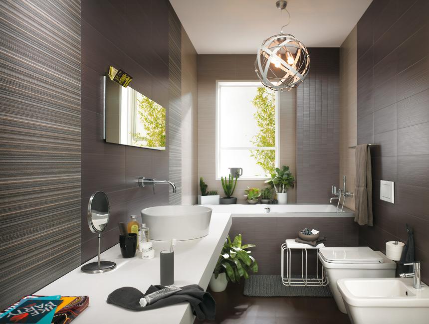 Materia rivestimento da bagno 25x45 fap ceramiche edilceramiche di maccan - Profilo rivestimento bagno ...