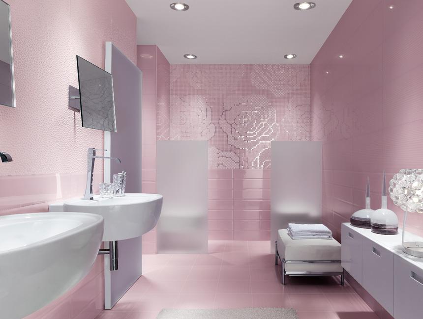 Mobili bagno rosa cheap with mobili bagno rosa immagine del