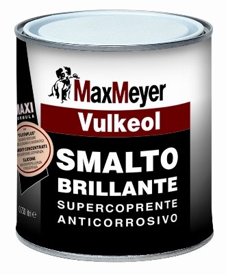 VULKEOL 0,75 LT. Smalto Brillante    Max-Meyer