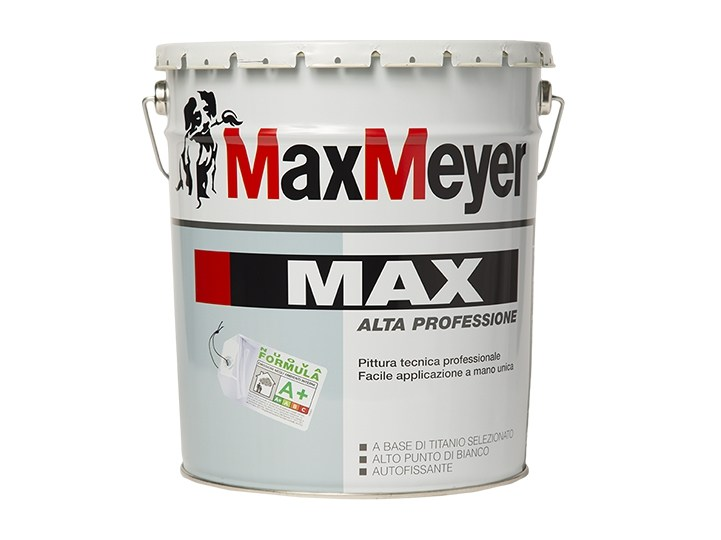 "MAX  Alta-Professione 0,75Lt. Pittura Murale Superlavabile a ""ManoUnica"" COLORATO  Max-Meyer"
