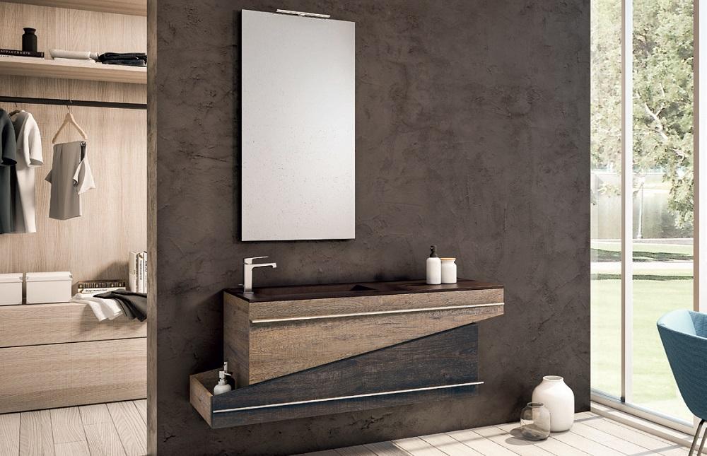 Fantastico mobili bagno mobile bagno cm con ante e vano a