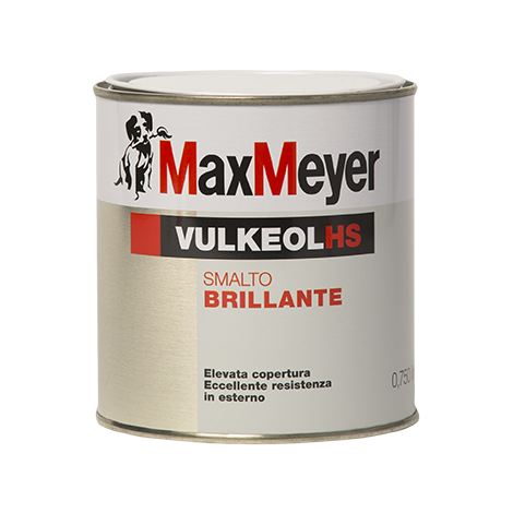 Vulkeol HS 2,5 Lt.   Smalto Brillante Supercoprente  Max-Meyer