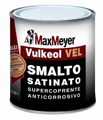 Vulkeol-VEL 0,75 LT.  Smalto Satinato  Max-Meyer
