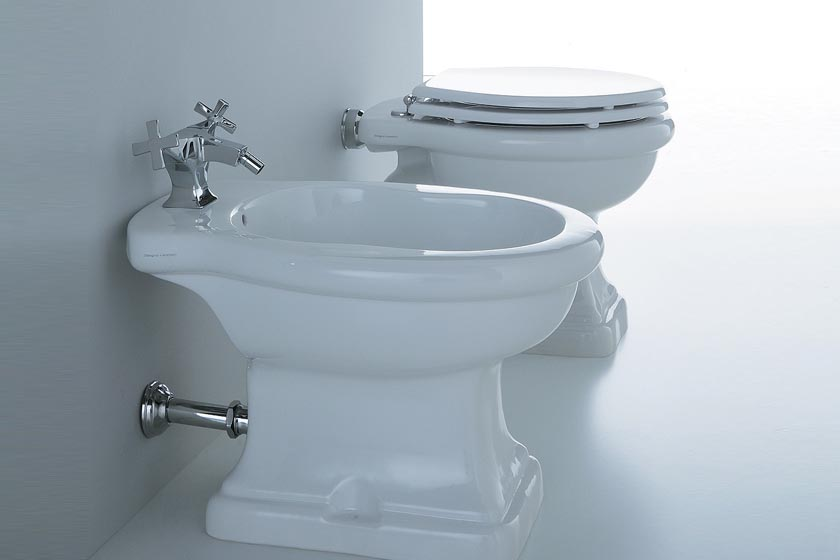 Paolina bidet trefori bianco disegnoceramica sanitari da - Sanitari da bagno ...