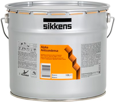 ALPHA   Anticondensa  10Lt.   Pittura Murale  Anticondensa SIKKENS