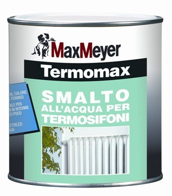 TERMOMAX 0,75Lt. Smalto all'Acqua per Termosifoni MAX-MEYER