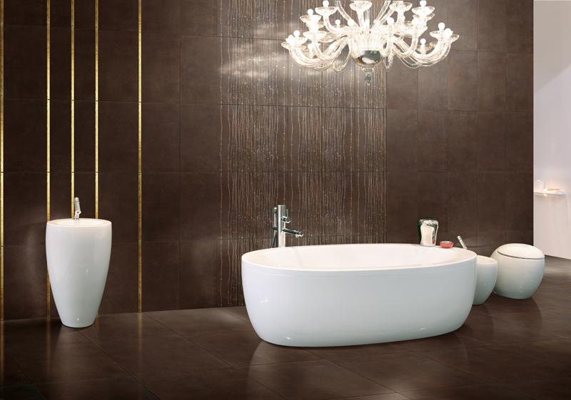 Piastrelle vasche rivestimento vasca da bagno in legno con
