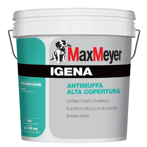 IGENA opaca 13LT. Pittura Murale Antimuffa Superlavabile  Max-Meyer