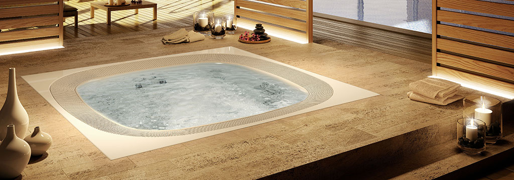 ENJOY   Base    Mini Piscina cm.250x250   xh.98   JACUZZI