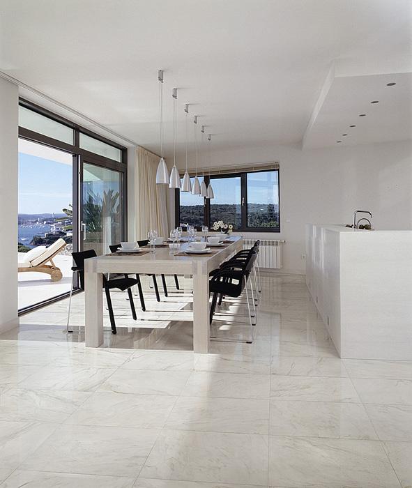 Maxima pavimento rivestimento effetto marmo saime ceramica edilceramiche di maccan - Bagno in marmo costo ...